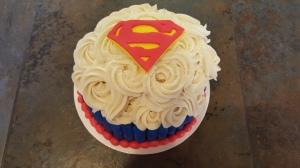 Superman Smash Cake 6
